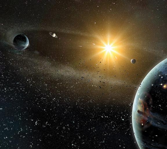 L'atmosphère de l'espace
